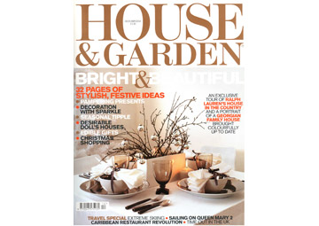 House & Garden - Dec 2004 Cover