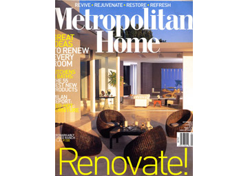 Metropolitan Home - Sept 2007 - Cover